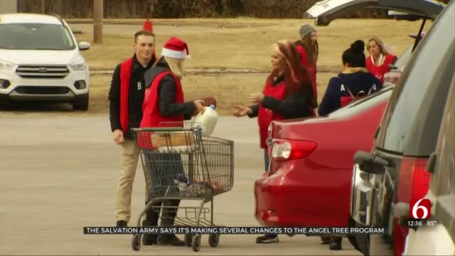 Salvation Army Making Several Changes To Angel Tree Program Due To COVID-19