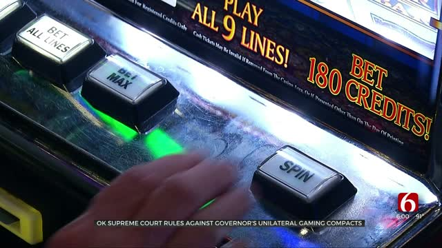 OK Supreme Court Rules Against Governor's Unilateral Gaming Contracts