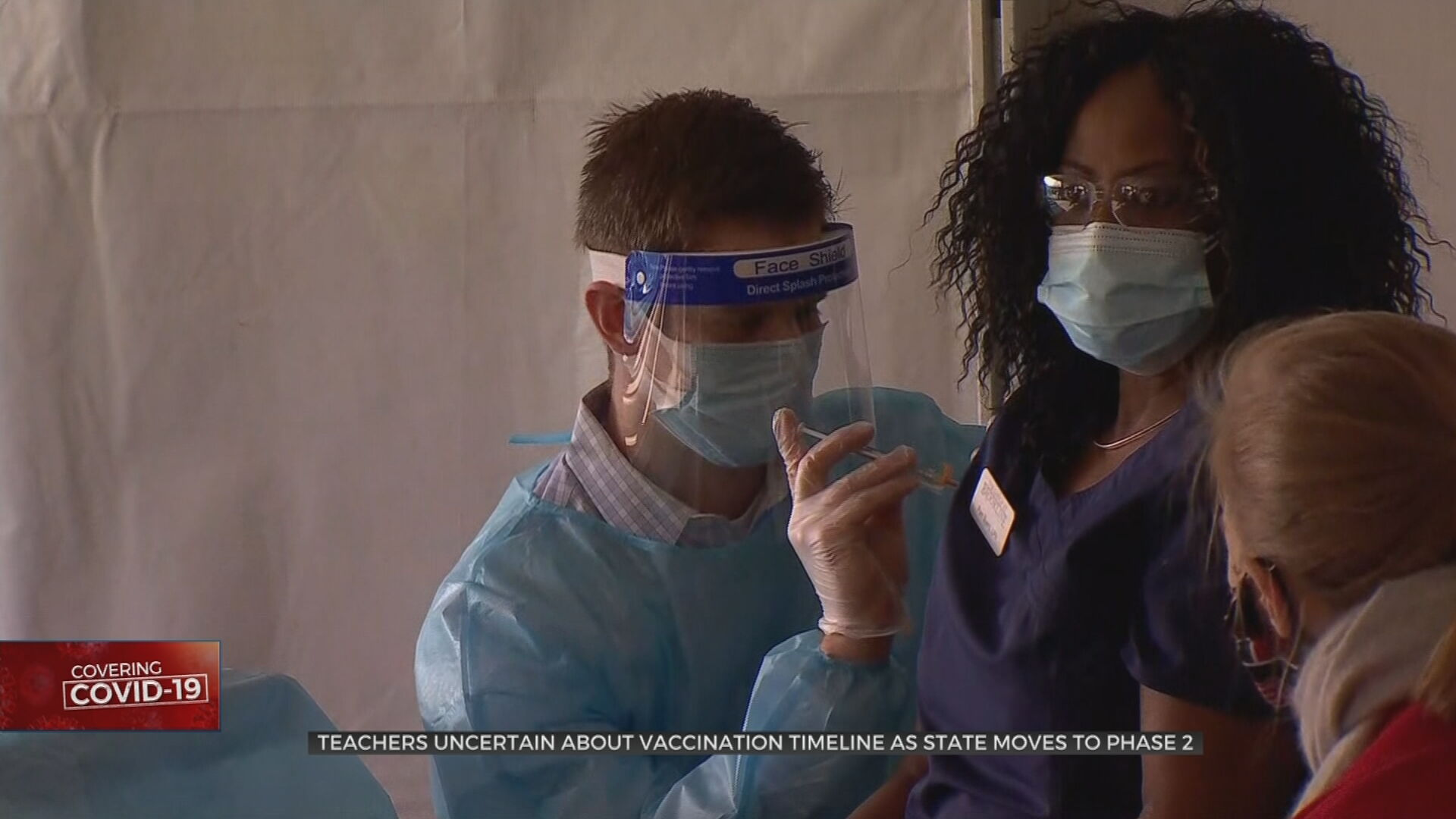 Teachers Uncertain About Vaccination Timeline As State Moves To Phase 2