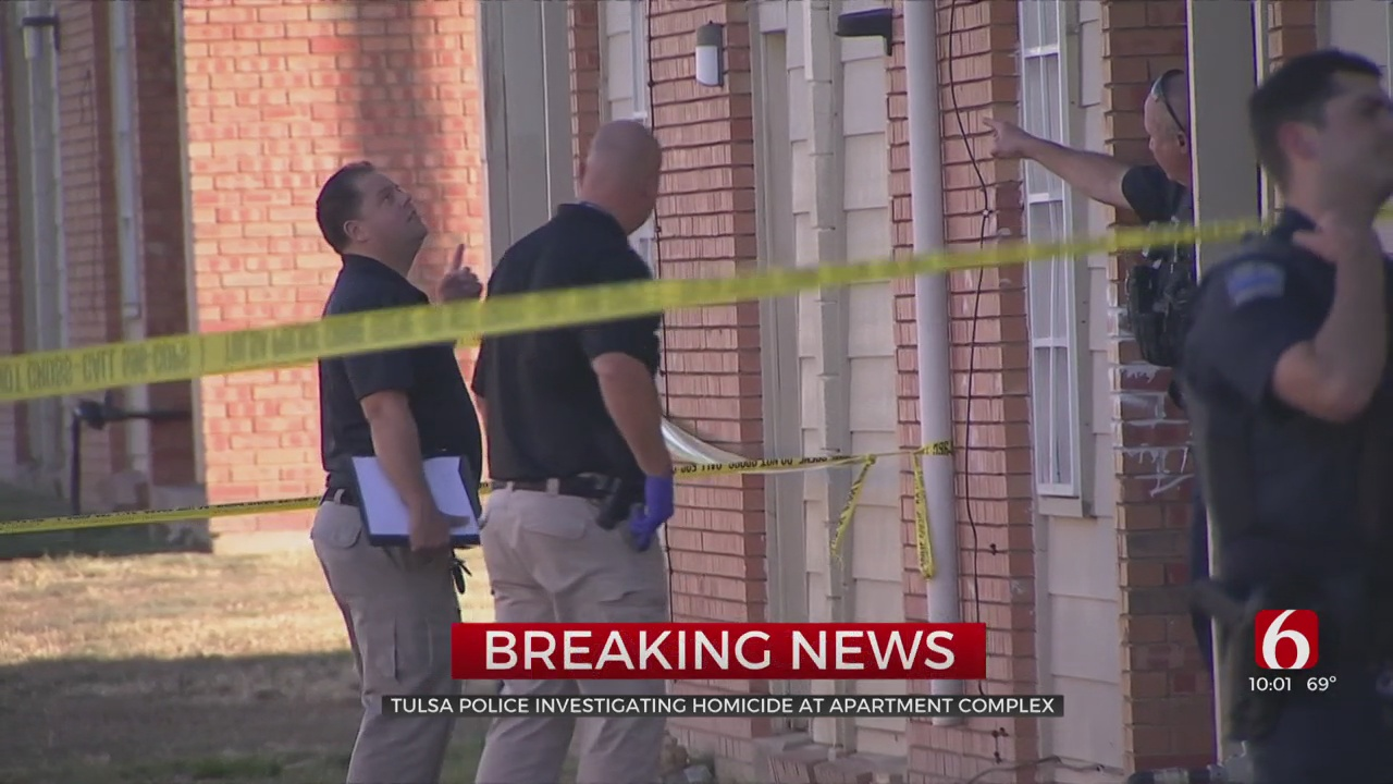1 Man Dead After Shooting At Tulsa Apartment Complex