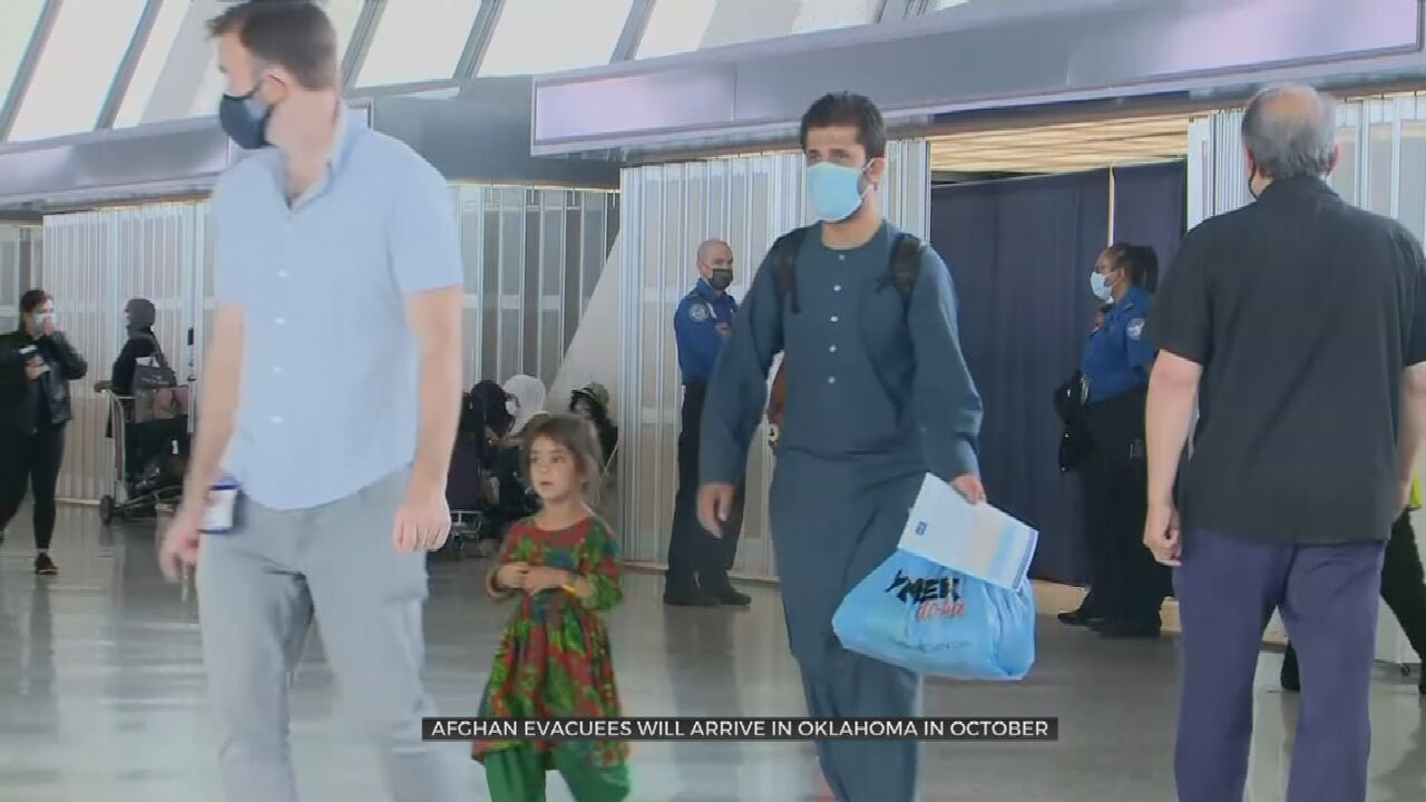 Afghan Refugees Coming To Oklahoma Delayed In Processing, Now Arriving In October