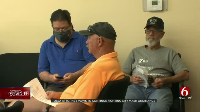 Tulsa Attorney Vows To Continue Fighting City Mask Ordinance