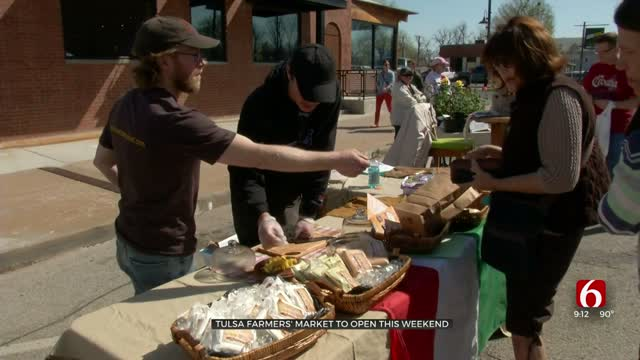 Tulsa Farmers Market Opens Saturday