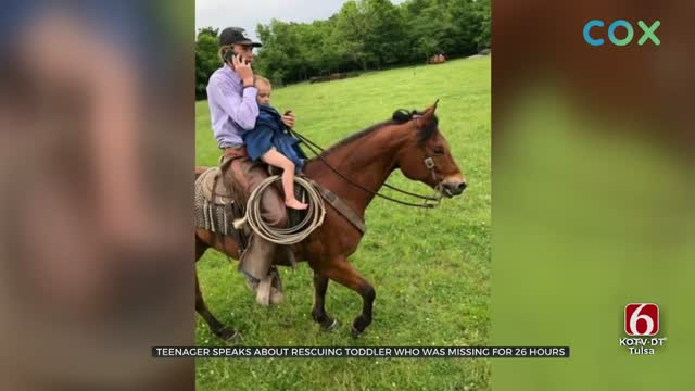 Teen Assists In Rescue Of Missing Mayes County Boy