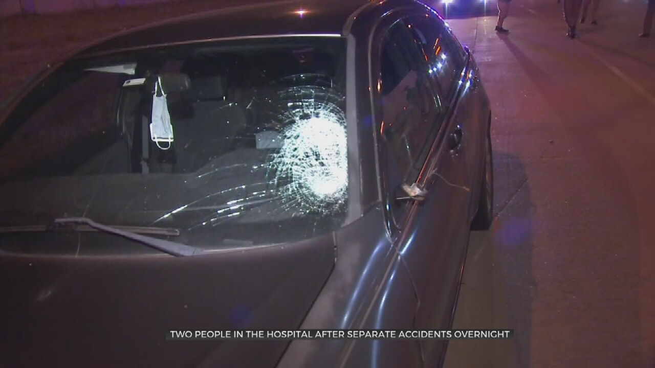 Two Hit By Cars In Separate Incidents In Tulsa