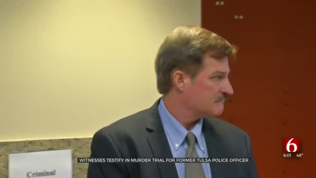 Witnesses Testify In Federal Murder Trial Of Former Tulsa Police Officer