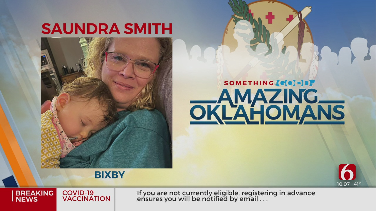 Amazing Oklahoman: Saundra Smith