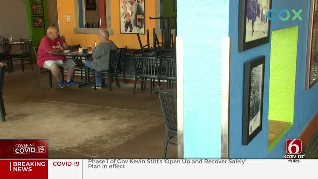 Some Tulsa Restaurants Open, Implement Social Distancing Measures