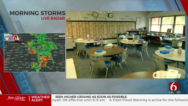 Several School Districts Reopen, Offer In-Person And Virtual Classes
