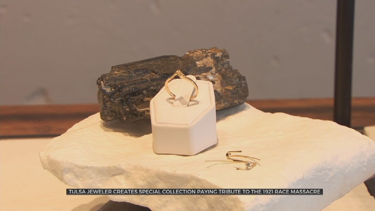 "Tulsa Jewelry Designer Creates Black Diamond ""Unity"" Collection; Proceeds Going To Black Moon"