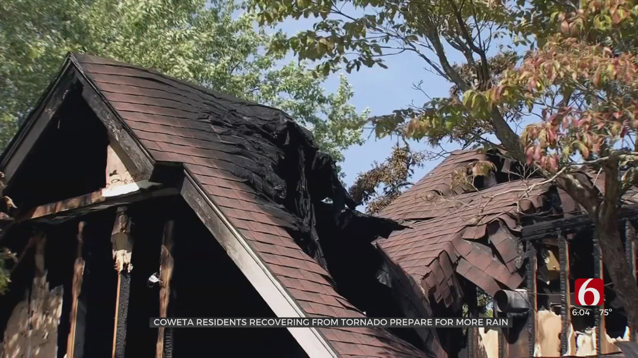 Coweta Residents Recovering From Tornado Prepare For Another Round Of Rain