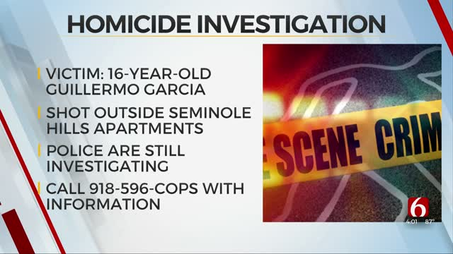 Tulsa Police Identify Victim In Seminole Hills Shooting