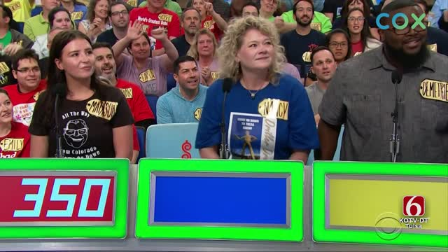 Tulsa Native Wins A Trip On 'The Price Is Right'