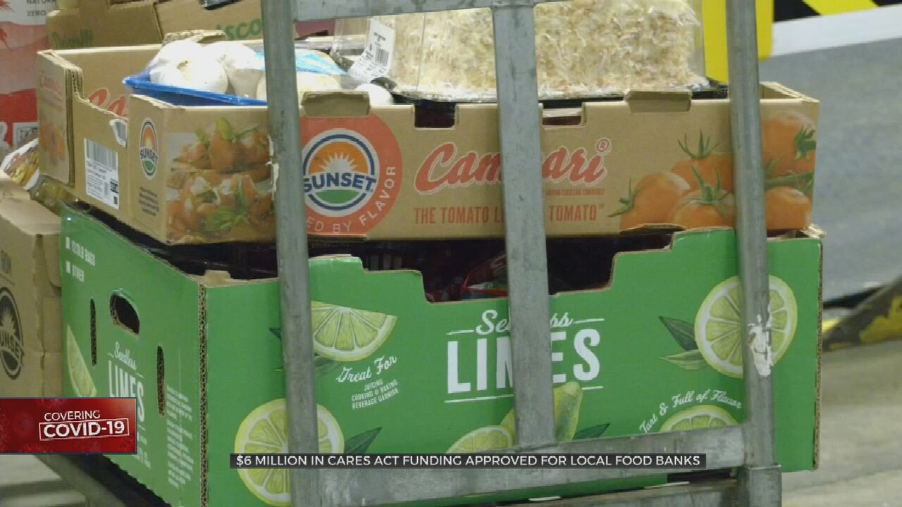Gov. Stitt Announces $6M In CARES Act Funding Approved To Help Local Food Banks