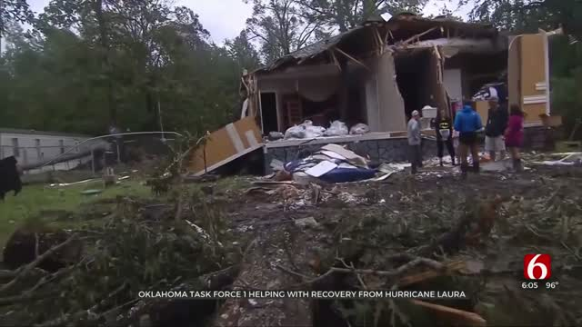 Oklahomans On Front Lines Helping With Hurricane Laura Recovery