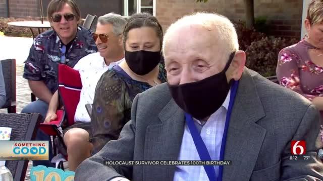 Longtime Tulsa Tailor, Holocaust Survivor Celebrates 100th Birthday