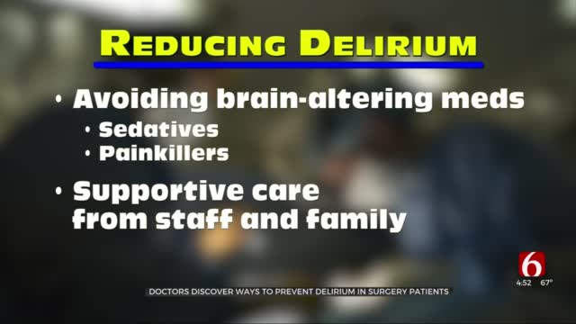 Watch: What To Know About Delirium & Surgery