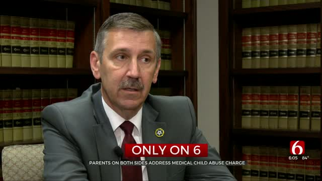 Parents On Both Sides Address Medical Child Abuse Charge