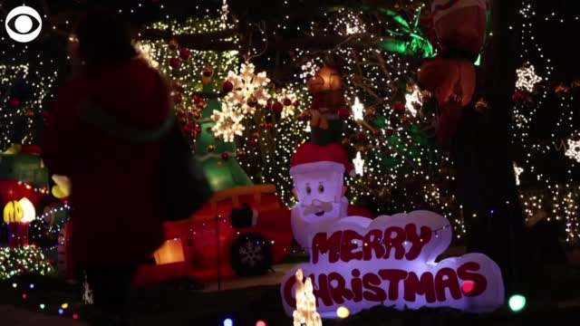 Watch: Homeowners in Austria, Germany Deck Out Houses To Celebrate Holidays