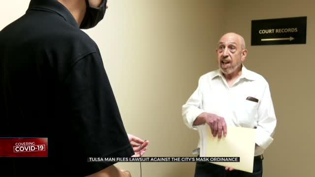 Tulsa Man Files Lawsuit Against City's Mask Ordinance