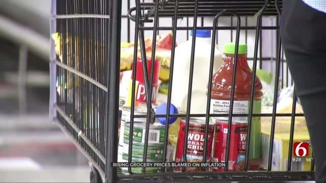 Inflation Impacting Rise In Grocery Prices, Financial Experts Say