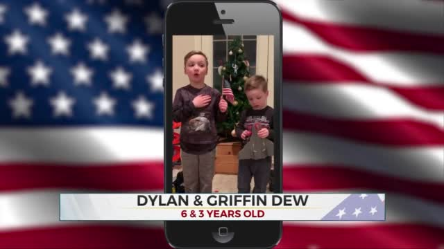 Daily Pledge: Dylan & Griffin Dew