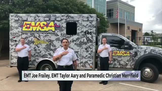 Daily Pledge: Joe Frailey, Taylor Aary and Christian Merrifild
