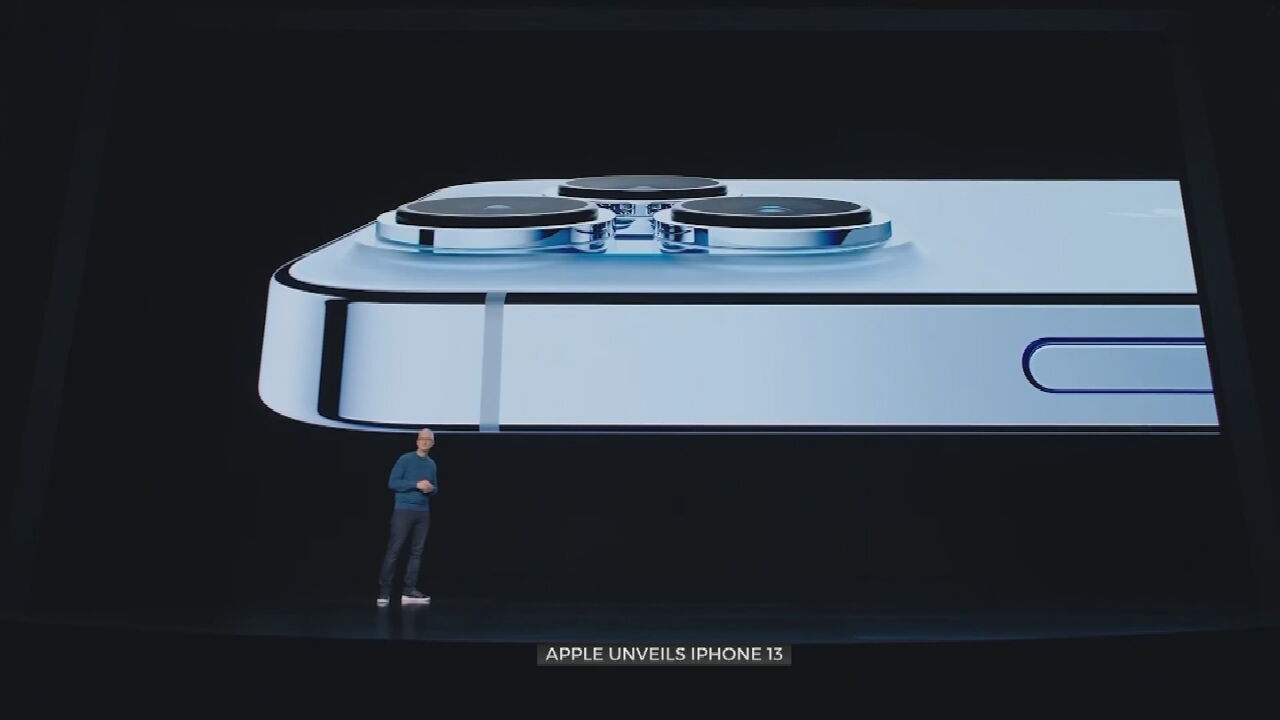 Apple Unveils Latest Line Of Products, Including New iPhone 13