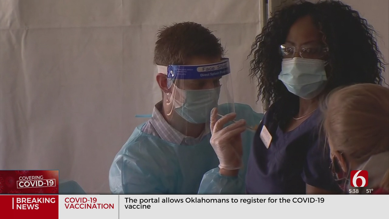 Tulsa Health Experts Update COVID-19 Vaccine Distribution After First Month