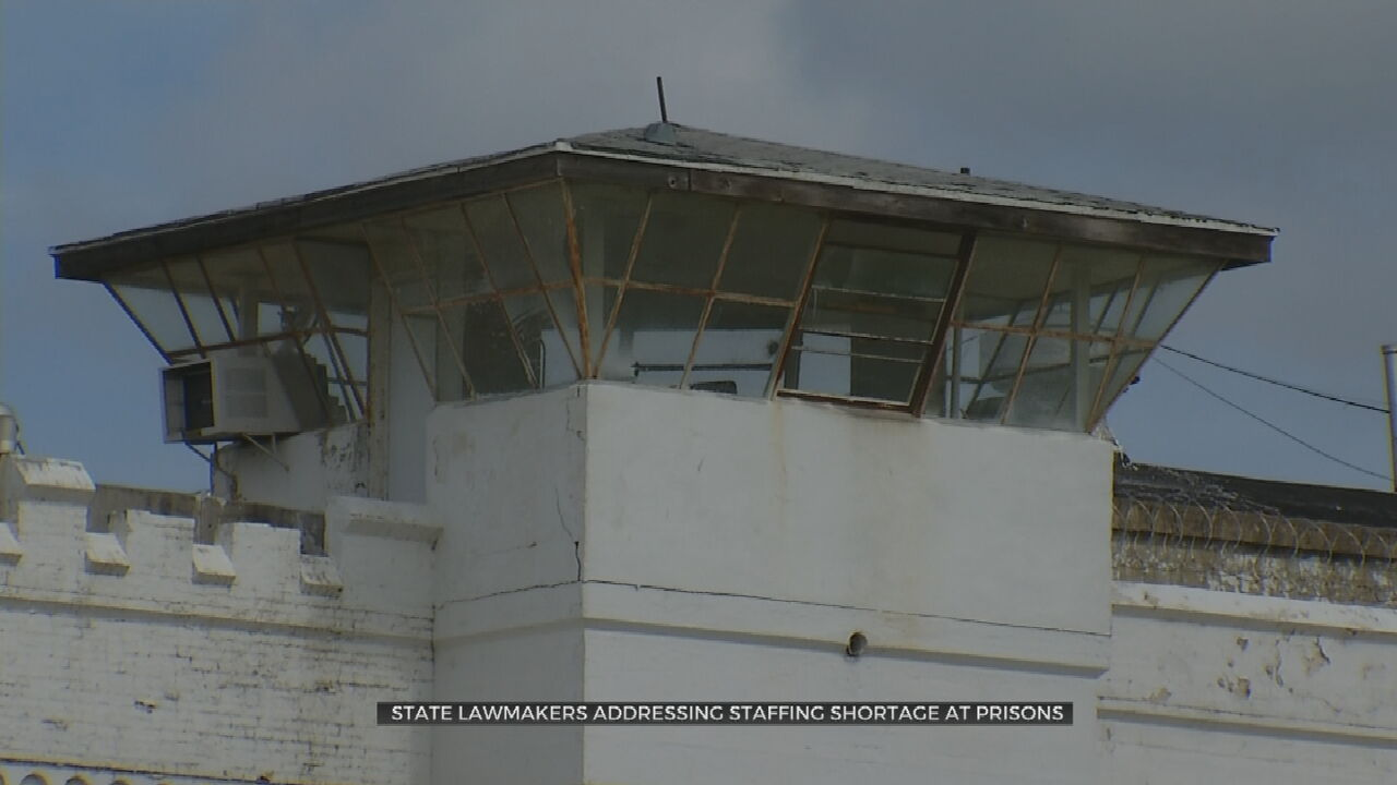 State lawmakers Work To Address Prison Staffing Shortage