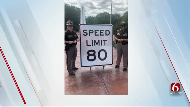 OHP Receives New Speed Limit Signs After Increase Approved