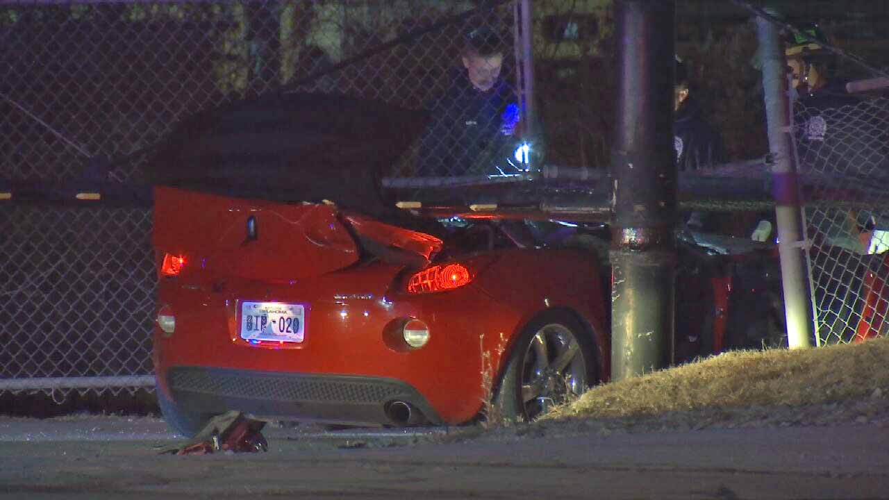 Tulsa Police: 2 Suspects In Hospital After Pursuit