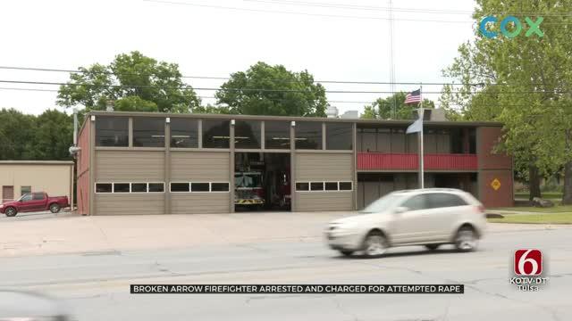 Tulsa Police Arrest Firefighter Accused Of Sexual Assault