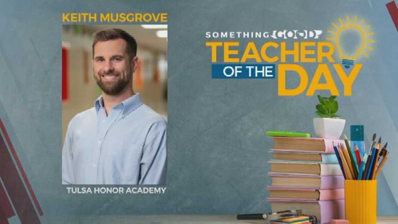 Teacher Of The Day: Keith Musgrove