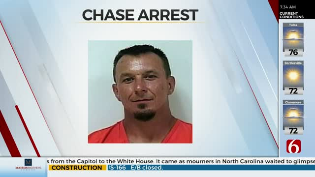 Man Arrested After High Speed Chase Through 2 Counties, Sheriff Says
