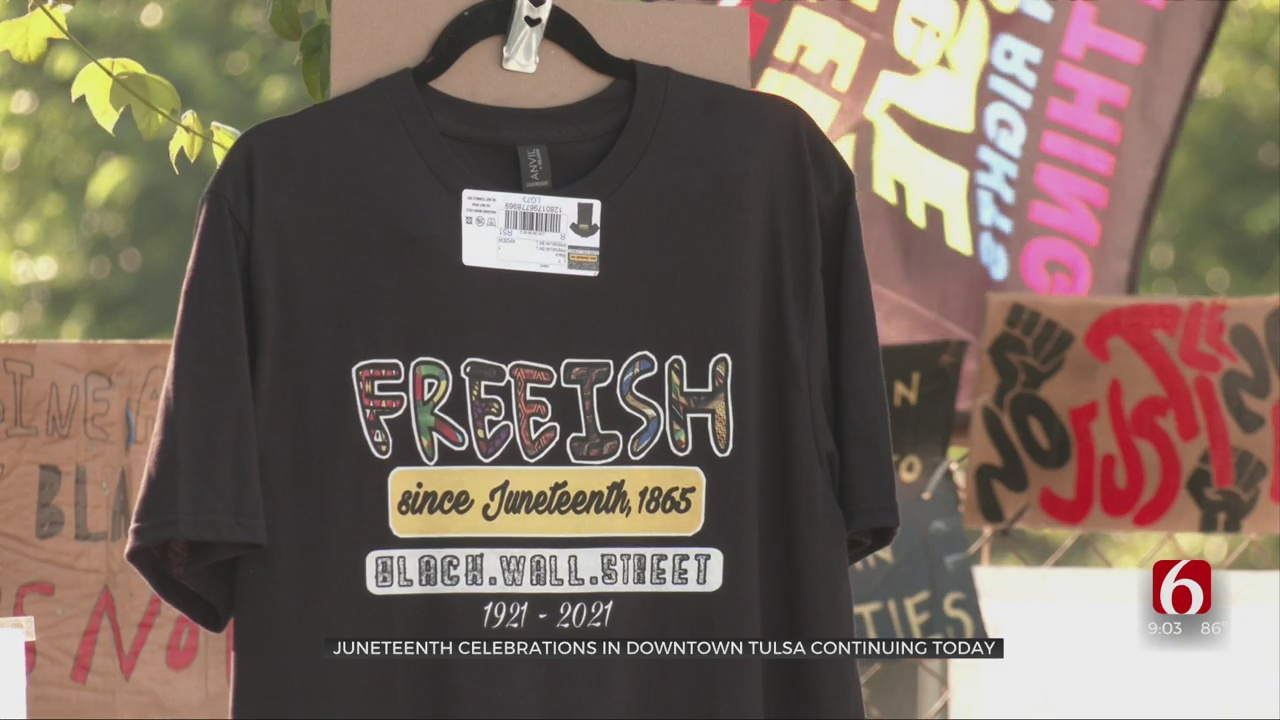 Black Wall Street Chamber Of Commerce Throws Juneteenth Block Party