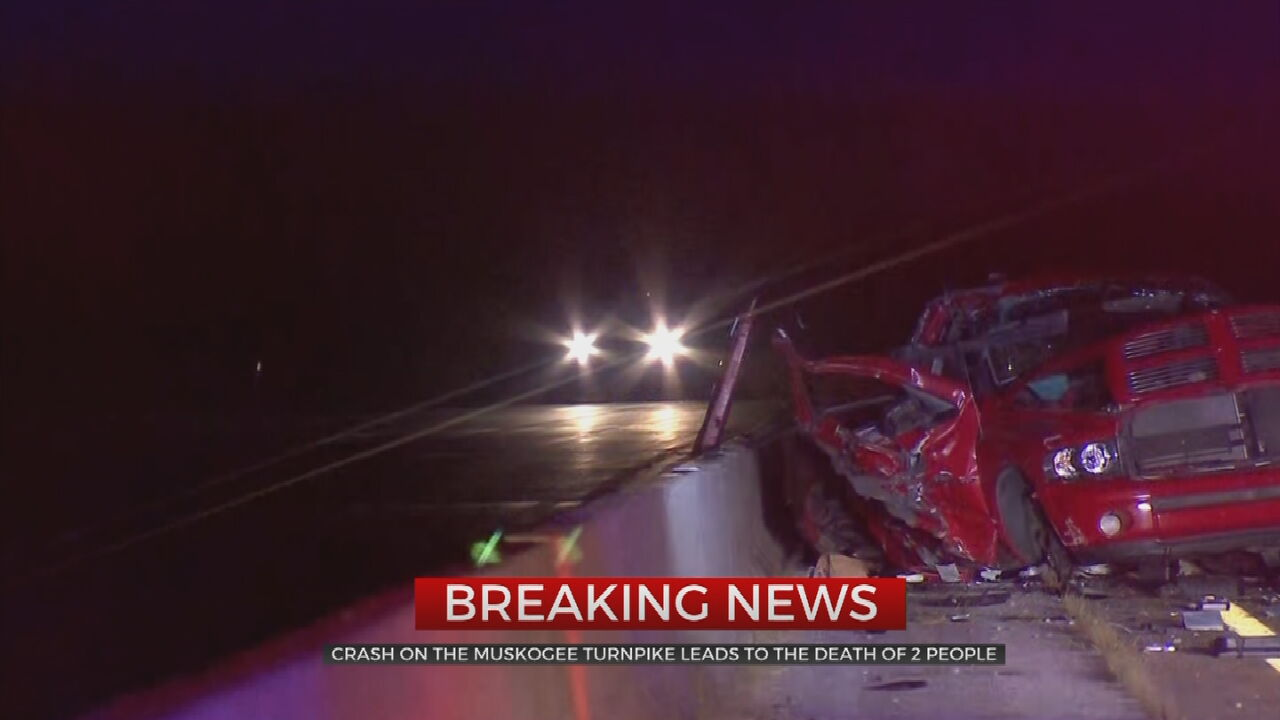 2 Killed In Deadly Crash Along The Muskogee Turnpike