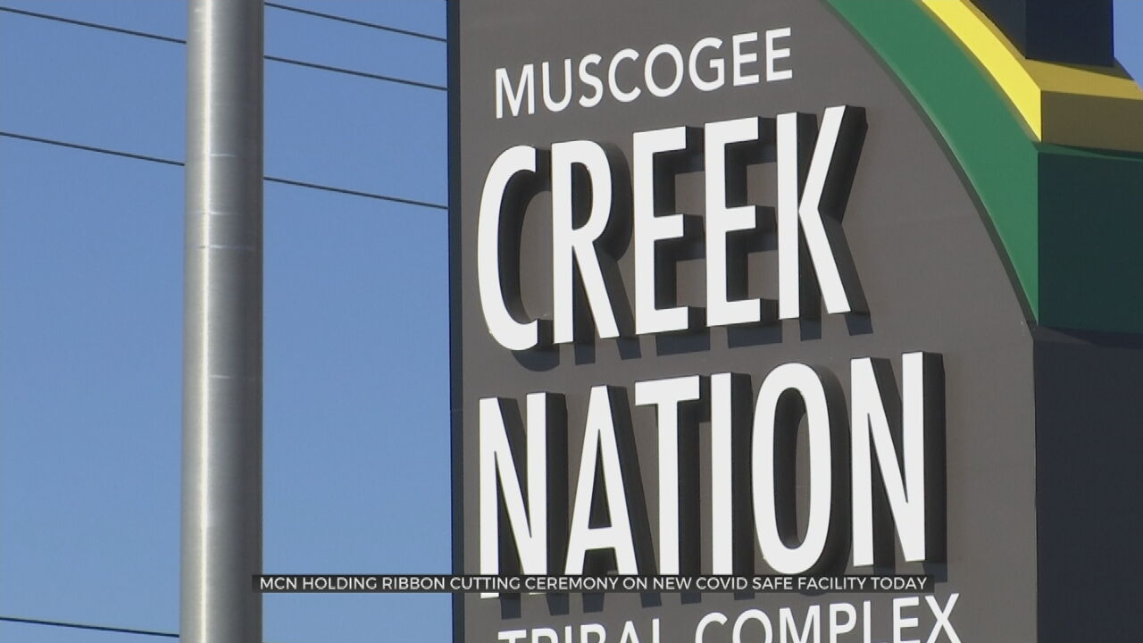Muscogee Creek Nation To Hold Ribbon Cutting For New 'Safe Space Facility'
