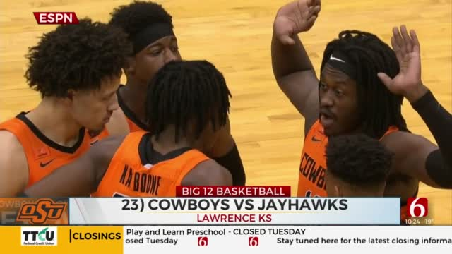 Cowboys Fall To Jayhawks On The Road, Pokes Plagued By Turnovers