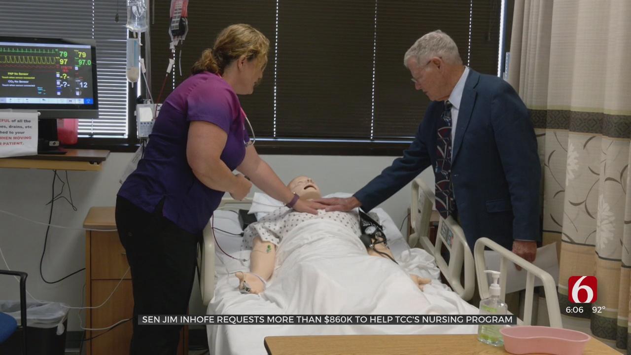 Senator Inhofe Announces Request Of $866,000 In Federal Funding For TCC Nursing Program
