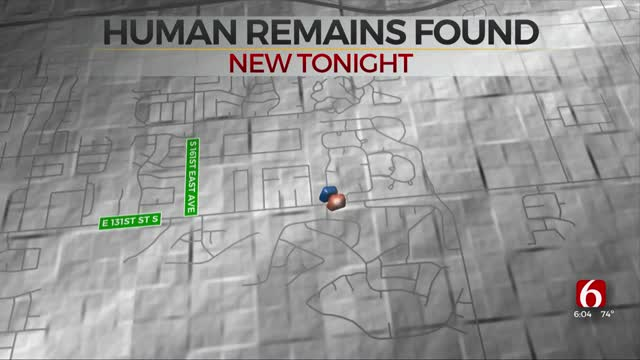 Human Remains Found In Broken Arrow, TCSO Says
