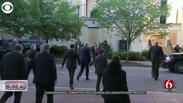 Congressional Committee Hold Hearing On Lafayette Park Protest