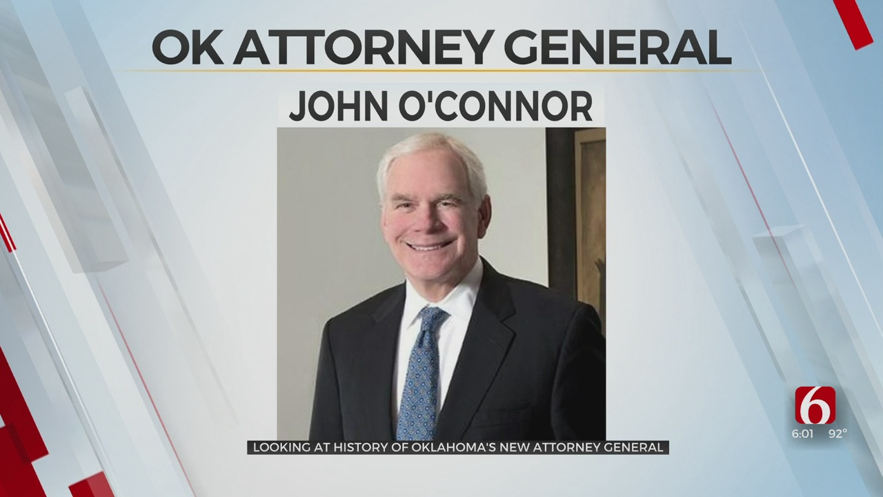 Meet John O'Connor, The Tulsa Attorney Named Oklahoma's New Attorney General