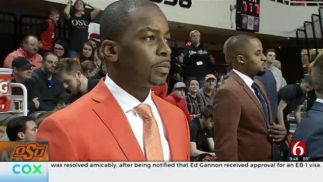 Cade Cunningham Stays With OSU, Coach Boynton A Key Reason