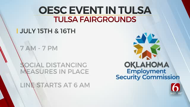 OESC To Hold In-Person Events To Aid In Claim Process