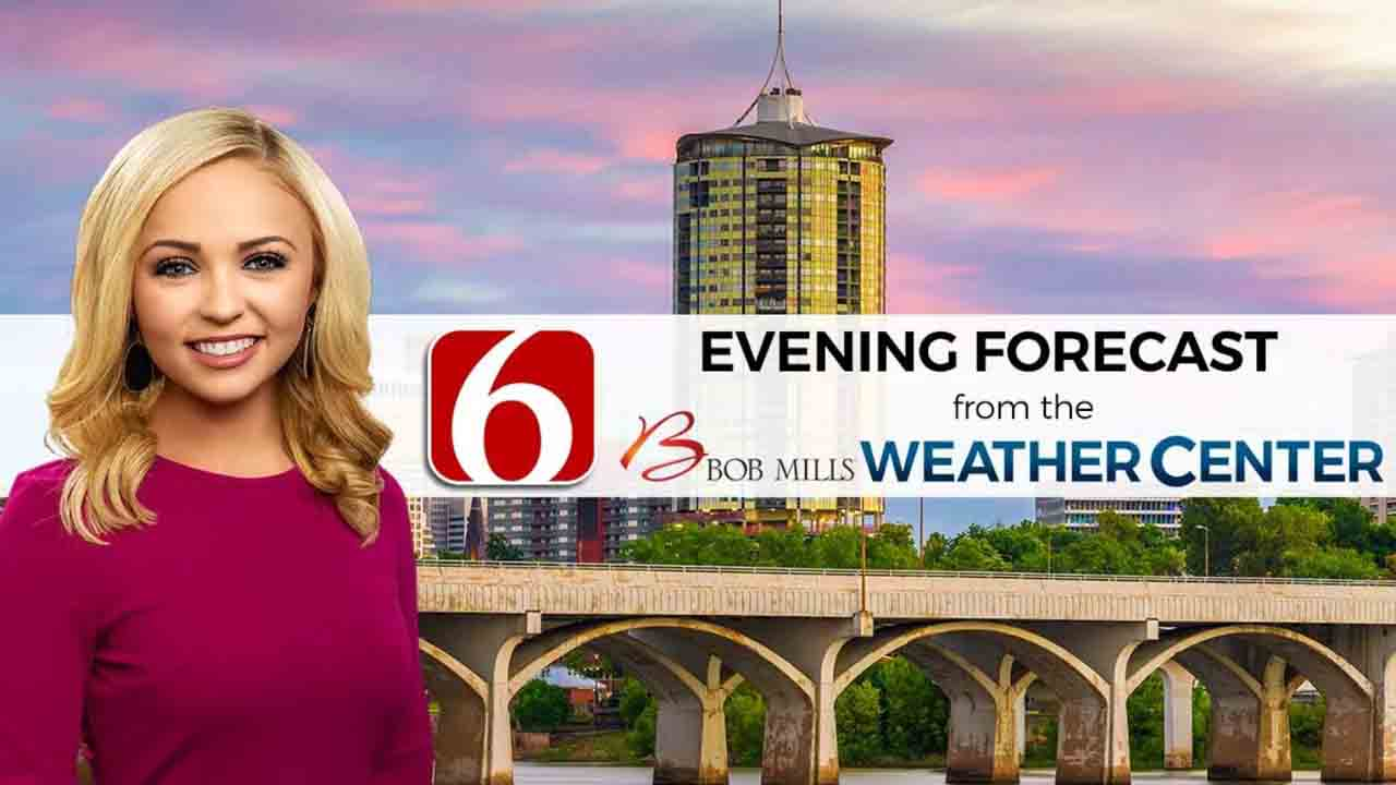Evening Forecast With Kendall Smith