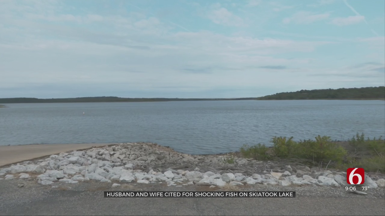 Game Wardens Issue Warning After Couple Cited Illegally Shock Fishing On Skiatook Lake