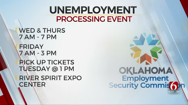 OESC Hosting 3 Unemployment Processing Events In Tulsa This Week