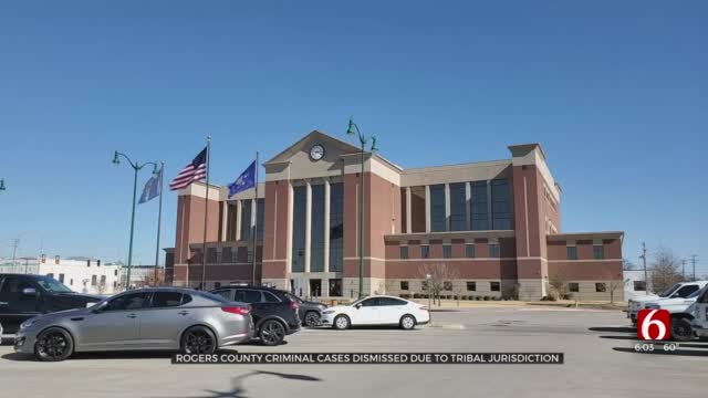 Rogers County Judge Dismisses Wave Of Criminal Cases Due To Tribal Jurisdiction