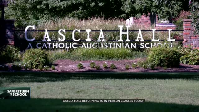 Cascia Hall Returns To The Classroom With Hybrid Schedule, Safety Measures